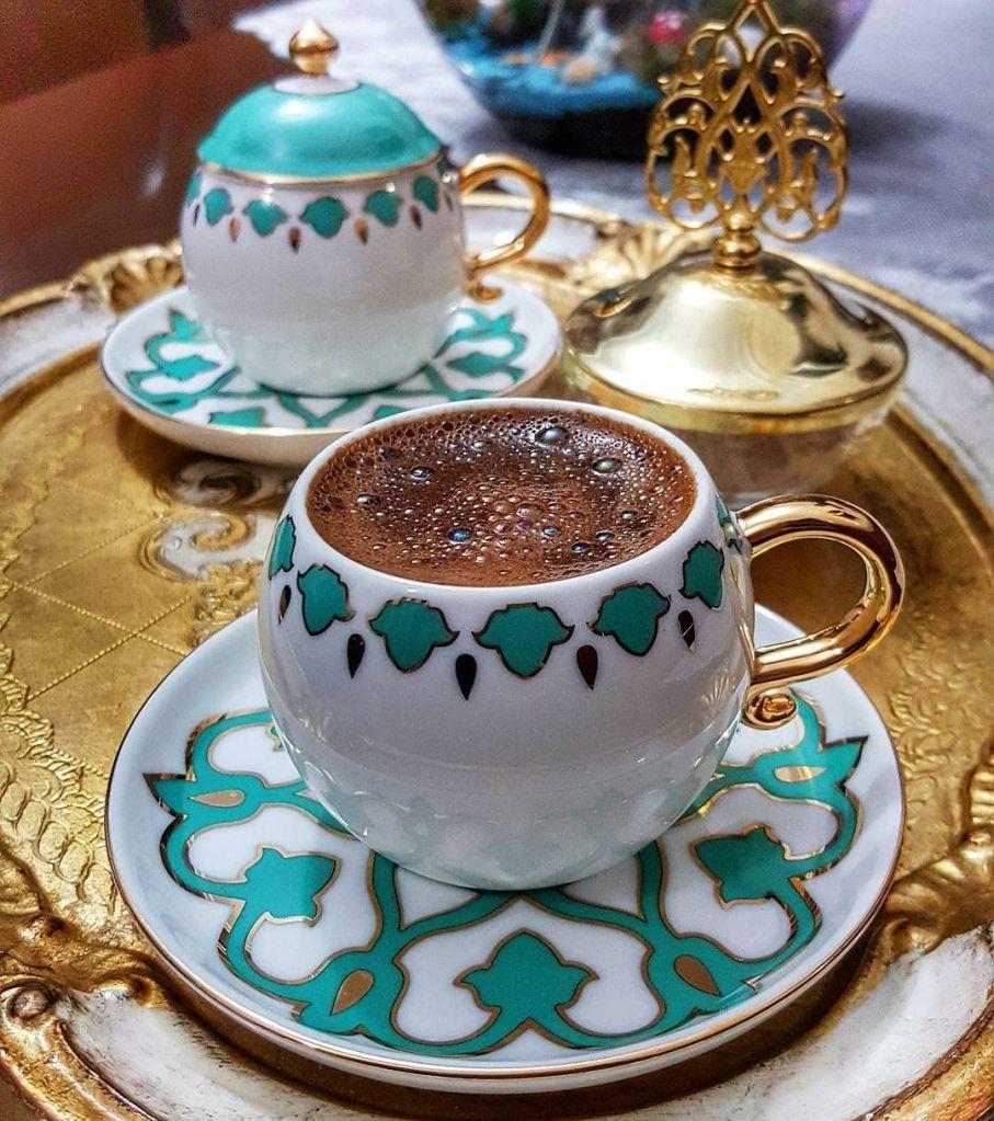 Türk kahvesi, geleneksel, Turkish Coffee
